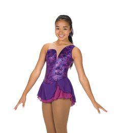 New Figure Skating Dress AURELLIA PURPLE MADE ORDER 3 WEEKS FABRICATION -252