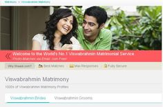 The largest Viswabrahmin Matrimonial Website with lakhs of Viswabrahmin Matrimony profiles, Shaadi is trusted by over 20 million for Matrimony. Find Viswabrahmin Matches via email. Join FREE!