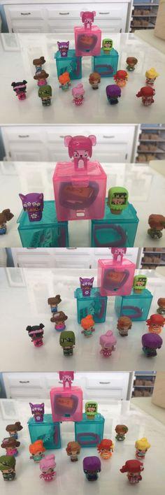 1990-Now 47228: My Mini Mixie Mixieq Mixieqs Aqua Box Set Of 15 Glitter Panda -> BUY IT NOW ONLY: $38 on eBay! My Mini Mixieqs, Panda, Cube, Glitter, Box, Snare Drum, Pandas, Sequins, Glow