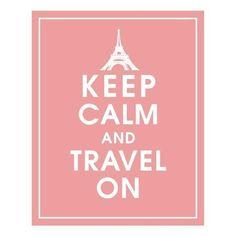 Keep calm & Travel on