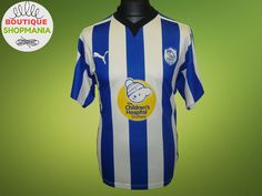 SHEFFIELD WEDNESDAY Owls HOME 2009-2010 (M) PUMA Football Shirt Jersey #Puma #SheffieldWednesday