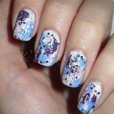 splatter-nails-october