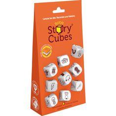 Jeu Story cubes standard.Age : 6 ans et +. Durée : 20mn. Contenu de la boite : 9 cubes (54 images) règle du jeu, boîte métallique à fermoir...