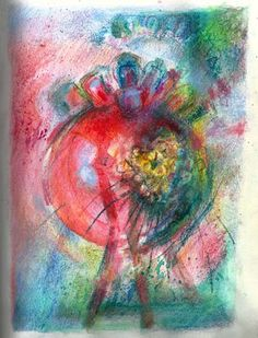 An abstract by Vivien Blackburn using Derwent Artbars. Like the picture and the Artbars look interesting.