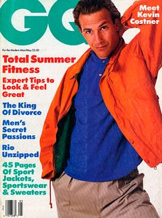 Kevin Costner for GQ, May 1987