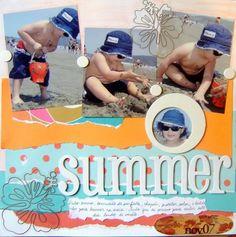 Multi-Photo Scrapbook Layout Gallery  summr