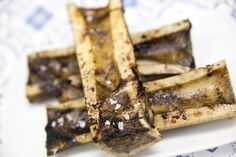 Grilled Marrow Bones. Amazing photos by @Josh Strauss Studios from our pop up dinner on July 22. Southern Italian Food and Ambiance. Yum!