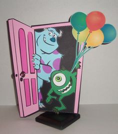 42 ideas cars pixar art monsters inc for 2019 Baby Birthday Themes, Cars Birthday Parties, Third Birthday, Boy Birthday, Birthday Ideas, Monsters Inc Doors, Monsters Ink, Monster Inc Birthday, Monster Inc Party