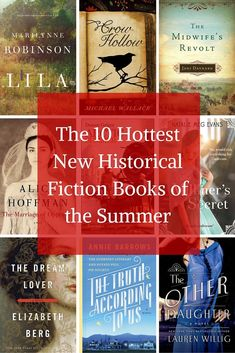 History books to read if you love learning about the past | The 10 Hottest New Historical Fiction Books of the Summer #FictionBooks