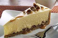 Easy Peasy Caramel Pecan Cheesecake