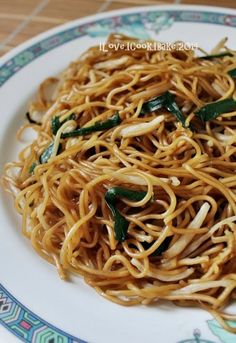AFF Hong Kong/Macau - Hong Kong Style Soya Sauce Fried Noodles - - A typical Hong Kong breakfast But to me and my family, this is a meal :)