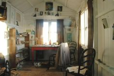 Dylan Thomas' writing room