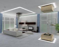 33 ides pour le moderne salon blanc puret et lgance - Beleuchtung Wohnzimmer Spots