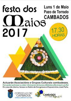 CORES DE CAMBADOS: FESTA DOS MAIOS EN CAMBADOS