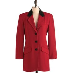 Vintage Major Blazer found on Polyvore featuring polyvore, fashion, clothing, outerwear, jackets, blazers, red velvet jacket, vintage velvet jacket, red jacket and vintage velvet blazer