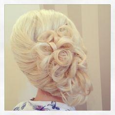 Wedding hair up x