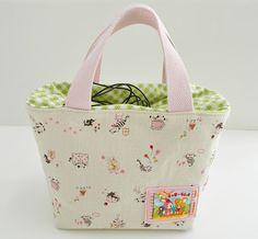 s.o.t.a.k handmade: bento lunch bag made from the book, Zakka Handmades♪