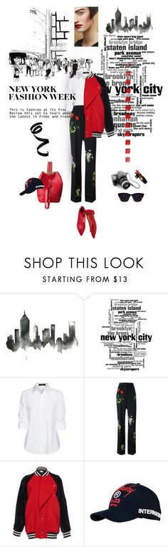 """What to Wear to NYFW"" by lacas ❤ liked on Polyvore featuring WALL, Steffen Schraut, STELLA McCARTNEY, Lanvin, Chanel, Superdry and NYFW"