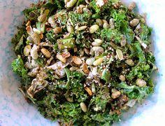 Shugurcän - Burmese kale salad