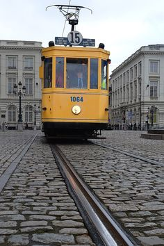 Tram, Brussels, Bruxelles, Photography