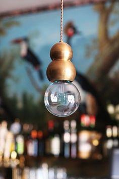 Bar Stella Brass Pendant Lighting