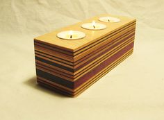 Wooden Candle Holders, Candle Holder Set, Wood Holder Ideas, Wood Tea Light Holder, Candle Centerpieces, Arabesque, Wooden Boxes, Candlesticks, Wood Crafts