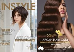 Silk Oil of Morocco in INSTYLE Magazine. Featuring an incredible 8pg Styled Shoot in which Sam Overton used various Silk Oil of Morocco Volume & Styling products. Silk's Argan Mineral Liquid Foundation also listed in INBEAUTY's 'Take Cover' section! Purchase Online Now at www.silkoilofmorocco.co.uk