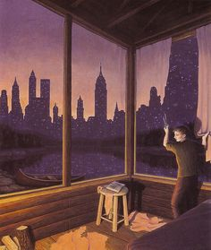 Illusion-Robert-Gonsalves-new-york-city-ou-ciel-etoilee