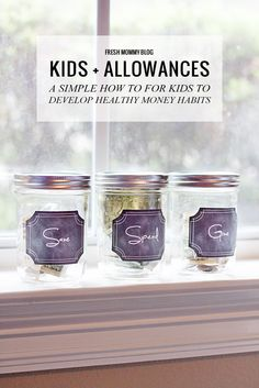 Kids and Allowances.