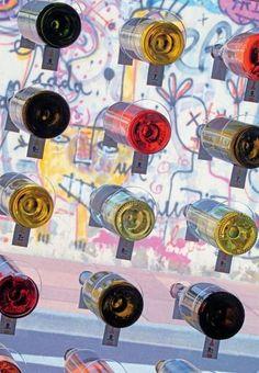 """Vins & déco pour """"l'Etiquette"""", Hossegor"""