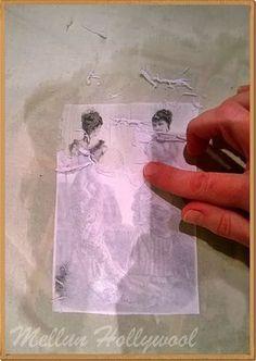 Kuvansiirto kankaalle EriKeeper-liimalla, kohteisiin joita ei pestä, kuten tauluihin, rasioihin... Laitan tekniikkaohjeen kuvansiirtosta k...