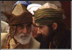 Sufi mystic Hazrat Inayat Khan's (not shown) eldest son Pir Vilayat Inayat Khan (left), converses with his eldest son Zia Inayat Khan (right).