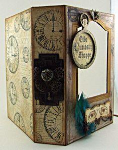 Olde Curiosity Shoppe Altered Box