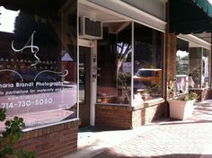 Ana Brandt Photography Studio  Old Town Tustin Double Storefront