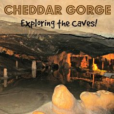 The caves at Cheddar Gorge are not only visually stunning, they are home to some of the most amazing prehistoric archaeology in the UK