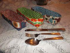 428 - Porta talheres... mesa organizada e mais bonita...