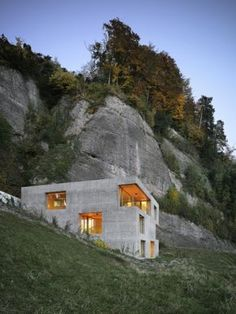 design | architecture - lischer partner architekten planer - holiday home in vitznau, luzern, 2011