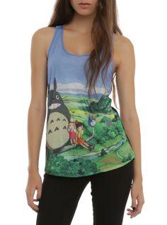 Studio Ghibli Her Universe My Neighbor Totoro Sublimation Girls Tank Top | Hot Topic