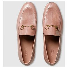 Gucci Jordaan Eel Loafer (509.200 CLP) ❤ liked on Polyvore featuring shoes, loafers, flat loafers, horsebit loafers, gucci footwear, horse bit shoes and gucci loafers