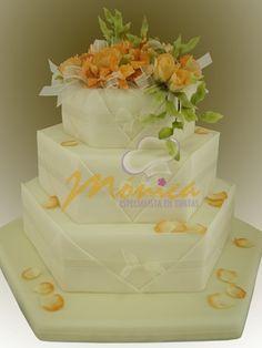 TORTAS MÓNICA :: Especialistas en Tortas Wedding Cakes, Cupcakes, Sweet, Desserts, Food, Kids, Decorating Cakes, Tortilla Pie, Sweets