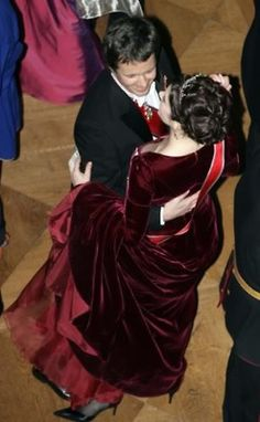 24 Februay 2007 - Gala Ball in Honour of King Harald's 70th Birthday at the Royal Palace in Oslo