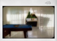 recreation room with pool table, fitness and Wii Nintendo