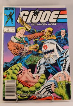 This GI Joe (1988 Marvel) #74 Comic comes exactly as shown in pictures. Comic is…