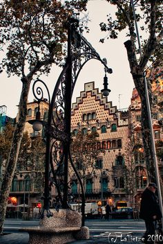 casa amatller on the corner of passeig de gracia, barcelona, catalonia, Spain Barcelona City, Barcelona Travel, Barcelona Catalonia, Best Places To Live, Places To Travel, Antoni Gaudi, Magic City, Spain And Portugal, Amazing Adventures