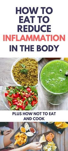 A detailed guide on how to eat to reduce inflammation in the body