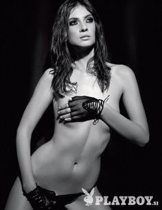 Nuša Šenk, Sanjsko dekle, Playboy Slovenija, marec 2008