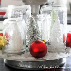 Snow Globes..