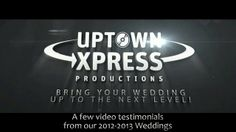 Here are just a few of the video testimonials from 2012-2013!  And check out our 40+ reviews on Wedding Wire!  weddingwire.com/reviews/uptown-xpress-productions-montreal-dorval/070d716991d31375.html  #montreal #wedding #dj #reviews #testimonial #planning
