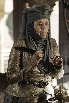 Game of Thrones Season 3 Blu-Ray Promo: Diana Rigg Talks Lady Olenna