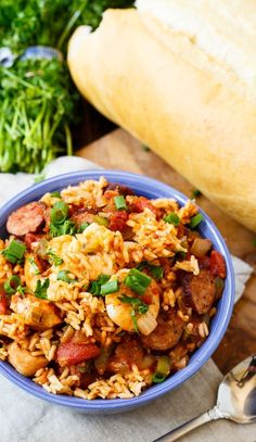 Slow Cooker Jambalaya with chicken and shrimp. ((((***I used vegetable broth, basmati rice, 1 lb. lobster, 4 apple chicken sausages, 1 can black beans, no oregano****)))